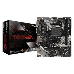 B450M-HDV R4.0 AM4 2 DDR4 I