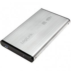 6cm SATA USB3 LogiLink silbe