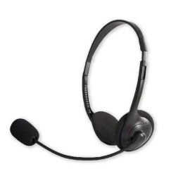 HEADSET WITH VOLUME CONTROL...