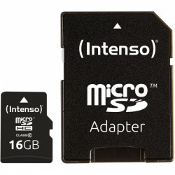 16GB Intenso MicroSDHC...