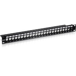 24-PORT 1U PATCH PANEL...