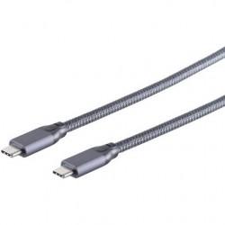 KAB USB-C 3.2 Gen.2 2m Gre