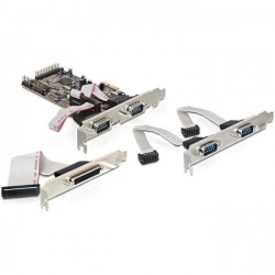 seriell PCIe 4x+1x parallel...