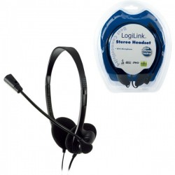 LogiLink Stereo Headset Delux